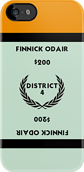 Hunger Games - Monopoly - Finnick Odair by amanoxford