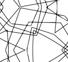 stroke geometric ornament Sticker