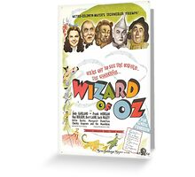 The Wizard of Oz (Alt) Greeting Card