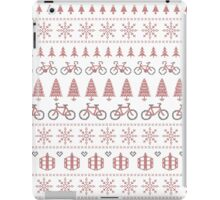 Christmas Jumper Fair Isle for Bikers iPad Case/Skin