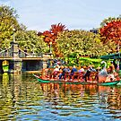 Swan Boats in The Garden. by Lee d'Entremont