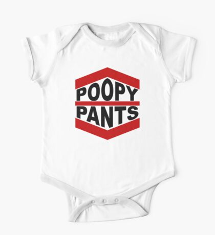 Poopy Pants One Piece - Short Sleeve
