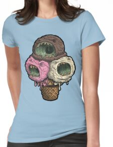 Necropolitan Ice-Scream Womens Fitted T-Shirt