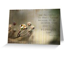 textured photography Greeting Card