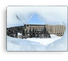Fairmont Chateau Canvas Print