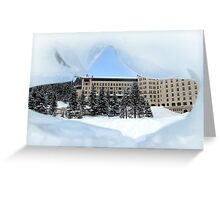 Fairmont Chateau Greeting Card