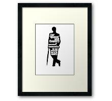 "Mycroft ""Omniscience"" Holmes Framed Print"