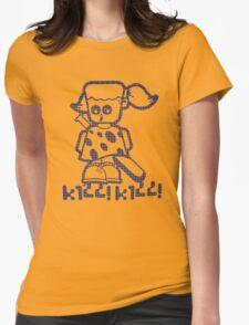 Sissy kill kill Womens Fitted T-Shirt