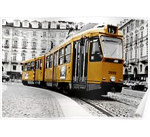 tram in to turin Poster