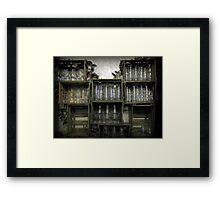 Glass Cabinet Framed Print