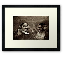 From the Other Side of the Glass  Framed Print