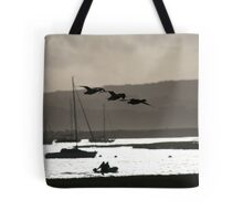 Brent geese, New Forest Tote Bag