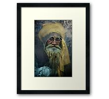 A Turban at the Window Framed Print