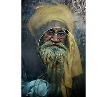 A Turban at the Window Photographic Print