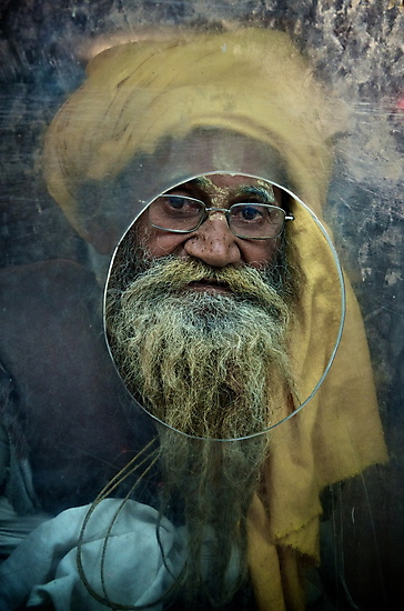 A Turban at the Window by Valerie Rosen