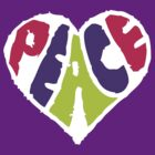 Peace Heart 2 by Ashton Bancroft