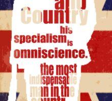 Mycroft (flag3) Sticker