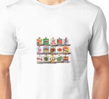 Kiwiana Food and Drink icons Unisex T-Shirt