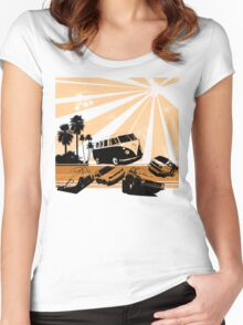 VW Festival Women's Fitted Scoop T-Shirt