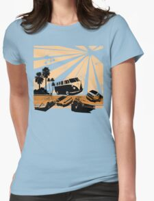 VW Festival Womens Fitted T-Shirt