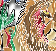cecil the lion Sticker