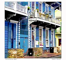 French Quarter Blues by Sandra Russell