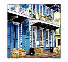 French Quarter Blues Photographic Print