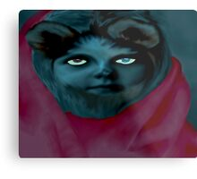 Werewolf Girl Metal Print