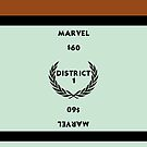 Hunger Games - Monopoly - Marvel by amanoxford