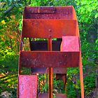 """""""Rusted Water Wheel"""" [a] by dreamNwish"""