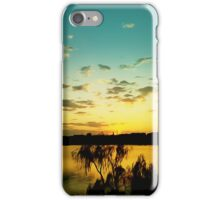 sunset silence iPhone Case/Skin