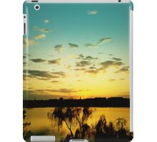 sunset silence iPad Case/Skin