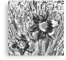 Flower Sketch Canvas Print