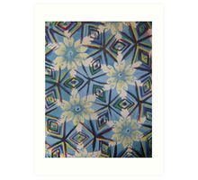 Kaleidoscope: Car Window Art Print