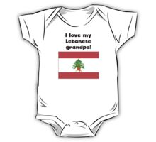 I Love My Lebanese Grandpa One Piece - Short Sleeve