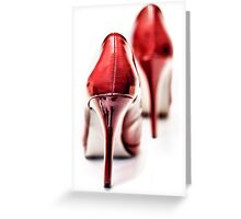 Red Hot Seduction (2) Greeting Card