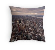 NYC: Manhattan Skyline Throw Pillow