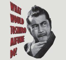 Toshiro Mifune by LaceratingLance