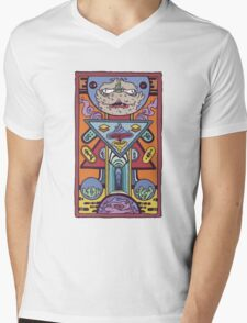 Teleport Mens V-Neck T-Shirt