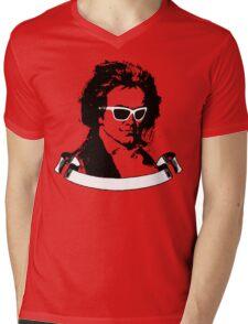 Cool Beethoven Mens V-Neck T-Shirt
