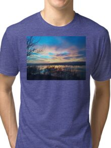 Best sunset ever seen x1 Tri-blend T-Shirt