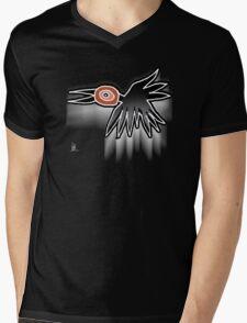 flying crow Mens V-Neck T-Shirt