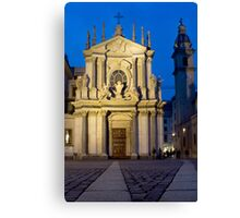 Church of Santa Cristina - Turin, Italy Canvas Print