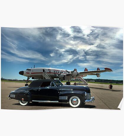 1941 Cadillac Convertible Coupe Poster