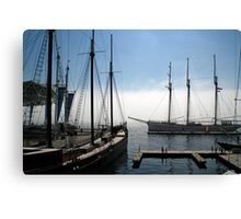 Tall Ships - Toronto Ontario Canvas Print