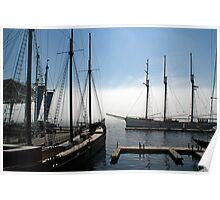 Tall Ships - Toronto Ontario Poster