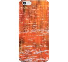 Fall Landscape Reflections on the Lily Pond iPhone Case/Skin