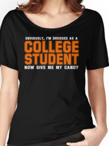 Collegiate Halloween Costume Women's Relaxed Fit T-Shirt
