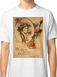 Happy Halloween (Vintage Halloween Card) Classic T-Shirt
