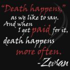 Zevran Aranai - Death Happens by Ashton Bancroft